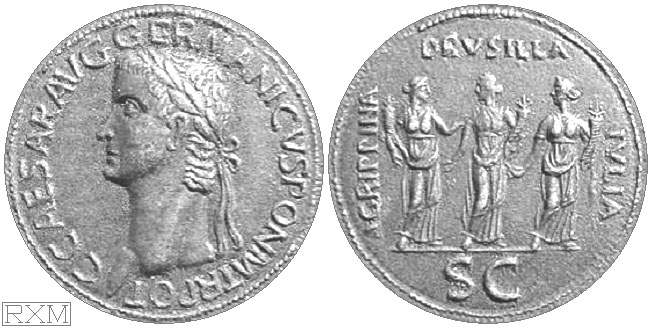 Caligula coin copy