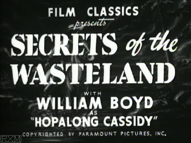 Hopalong Cassidy Secrets