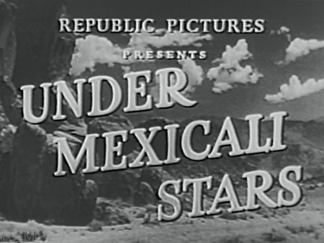 Under Mexicali Stars
