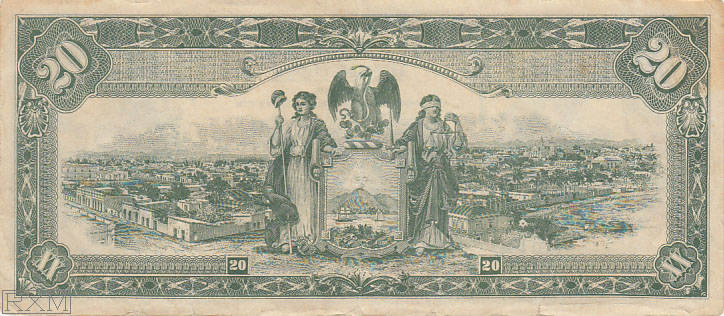 Paper Money Mexico Sinaloa