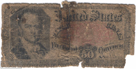 Paper Money - United States Fractional