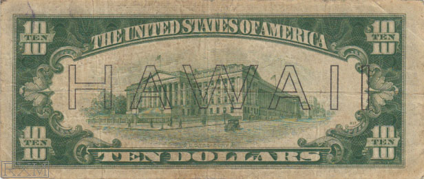 Paper Money - United States Hawaii