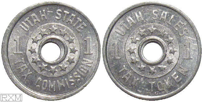 Tax Token Utah Aluminum Sales Tax One