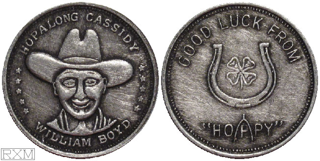 Hopalong Cassidy Coin