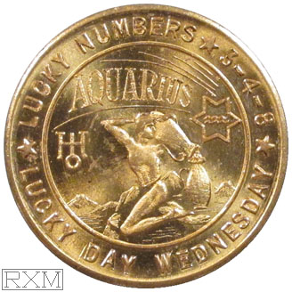 Ushers Coin Aquarius