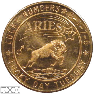 Ushers Coin Aries