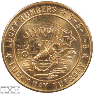 Ushers Coin Scorpio