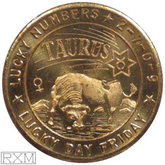 Ushers Coin Taurus